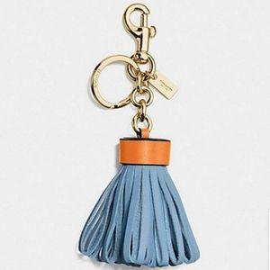 Coach Bag Charm Blue